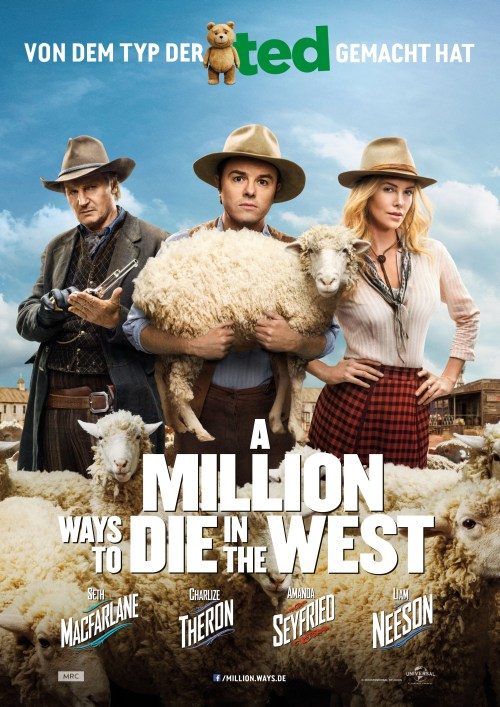 A Million Ways To Die In The West Plakat
