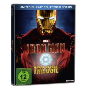 Iron Man Steelbook Cover