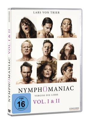 Nymphomaniac Cover